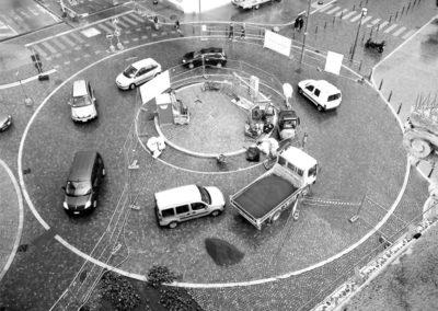 creazione di strade e rotatorie in ambiti urbani